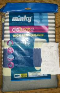 "Minky Deluxe High Performance Ironing Board Cover 122 x 38cm (48 x 15""), £2.50 In Store @ Aldi, High Street, Glasgow"