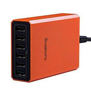 Lumsing 6-Port Desktop USB Charger 60W Mains Charging Station + free multi offer £10.99 (Prime or £13.98 non-Prime) at Amazon Sold by Bifrost UK and Fulfilled by Amazon
