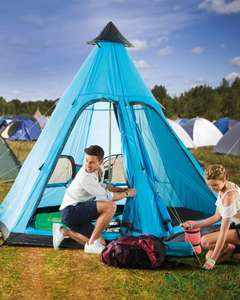 Aldi Camping Deals instore / online with Free Del ie Adventuridge Tipi Tent £49.99