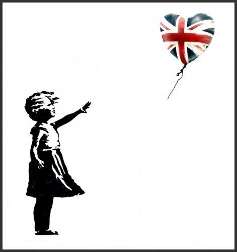 UK ELECTION SOUVENIR SPECIAL Free Banksy print - Bristol only