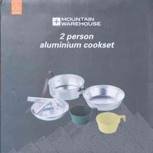 Two Person Camping Cook Set Was £13.99 Now £6.99 with Free Delivery Today & 20% off £5.59 & TCB @ Mountain Warehouse