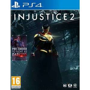 Injustice 2 inc. Darkseid Dlc Ps4 & Xb1 £34.95 @TGC