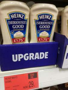 Heinz mayonnaise (220g) £0.29 at B&M in Reading