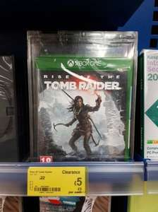 Rise of the Tomb Raider (Xbox One) £5 @ Asda
