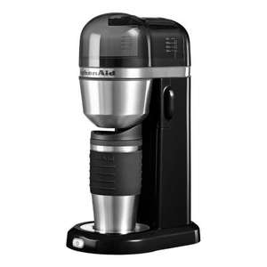 KitchenAid 5KCM0402BOB Black Personal Filter Coffee Maker Hughes £39.99 Free Delivery @ Hughes