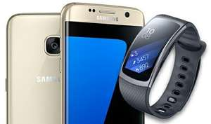 Samsung Galaxy s7 Edge on ee - £27.99 a month for 5gb, £10 upfront, and a FREE Samsung gear fit2 @ Mobiles