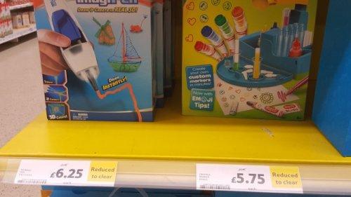 3d pen and crayola set £6.25 instore @ Tesco