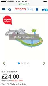 Elephant paddling pool play centre - £24 @ Tesco Direct