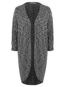 asda george womens longline marl cocoon cardigan £4 down from £10