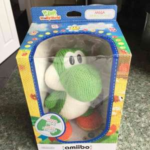 Nintendo Switch/Wii Amiibo Mega Yarn Yoshi just £4.99 @ Game Boston (National deal)