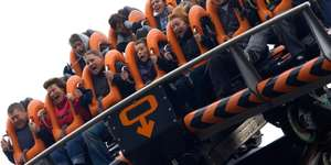 Tackle six of the UK's biggest rollercoasters at the Alton Towers Resort and come back for FREE (eg  2 People - night in resort hotel + Breakfast, parking + day in park (Plus FREE return tickets for riding big 6) £69.50pp