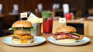 2 Burgers for £12 - GBK