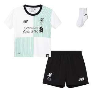 Liverpool away kit 2017/2018, free £10 gift certificate and free junior kit bag. £33.95 @ Liverpool fc