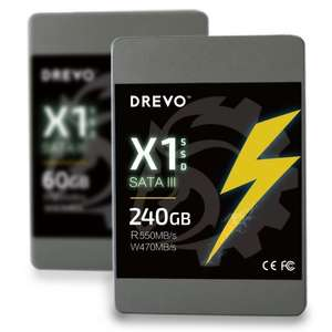 "Drevo 240GB 2.5"" SATA3 SSD - £59.99 delivered @ eBay (dinsdale-uk)"
