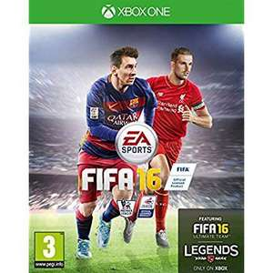 XBOX ONE FIFA 16  FROM ASDA £2.00 instore