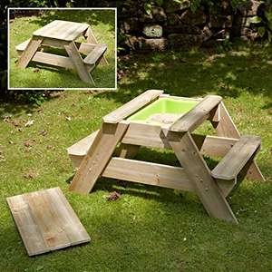 TP Early Fun Picnic Table / Sand Pit / Water Tray (was £80) Now £56 (£63.95 delivered) at Tesco Direct