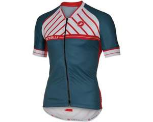 Castelli Scotta Short Sleeve FZ Cycling Jersey @ Merlin Cycles - £32.50