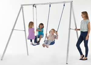 Sportspower Titan 2.2M Galvanised Swing And Glider (was £60) now £47.95 delivered at Asda