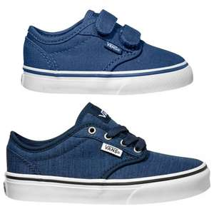 Infant Navy Vans (size 5 and 6)  was £25, now £12 at John Lewis