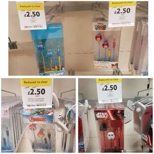 Kids in-ear headphones now £2.50 (were  £10) in store at TESCO Avengers, Tsum Tsum, Dory, Star Wars
