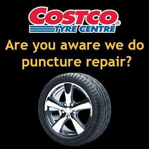Tyre puncture/repair at Costco only £9.99