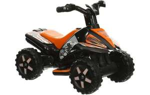 Roadsterz 6v Quad Bike in Black or Pink Half Price now £40 C+C / Del @ Halfords (also Dolu Tractor & Trailer was £100 now £40 + More)