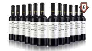 12 bottles of Spanish Tempranillo red wine 14.5% £44.98  / £3.75 a bottle delivered was £78 - Teachers gift idea? @ Groupon