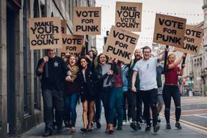 Free Punk IPA for voting - Brewdog