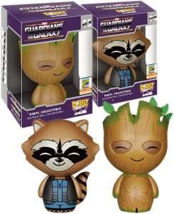 £25 SDCC GUARDIANS OF THE GALAXY ROCKET AND GROOT XL DORBZ - £25 @ Forbidden Planet