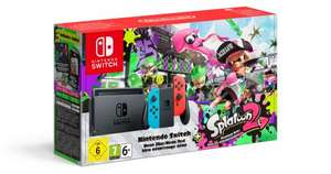 Nintendo Switch Neon Red/Blue + Splatoon 2 Limited Edition Bundle (released 21/07/17) £299.99 with code TDX-HKFY (Code expires today) @ Tesco