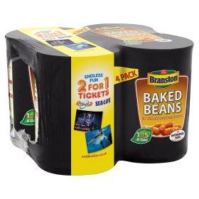 Branston Baked Beans 4 x 415g £1.25 @ Asda