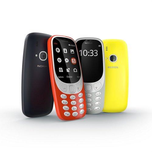 Nokia 3310 (2017) UK-SIM Free Feature Phone £49.99 - Amazon UK