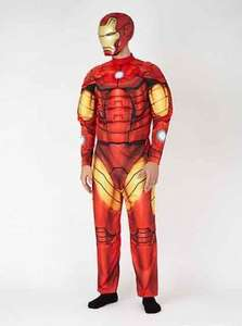 Adult Iron Man Fancy Dress Costume Down from £20 to £8 Asda.com