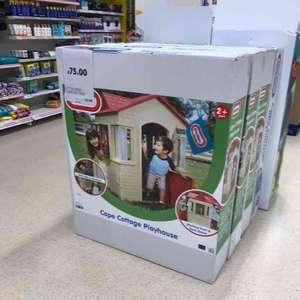 Tesco in store. little tikes cape cottage playhouse. £75