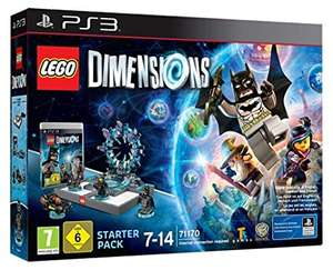 Lego Dimensions Starter Pack PS3 £6 @ Asda