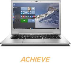 "LENOVO IdeaPad 510S 14"" Laptop Silver Windows 10 8GB RAM 256GB SSD Storage - £529.99 via eBay Currys store"