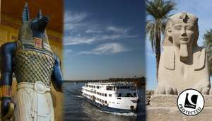 14 Nights Hurghada, 5* All inclusive Hotel & 5* Nile Cruise inc Flights £489 - Save 46% @ Go Groupie