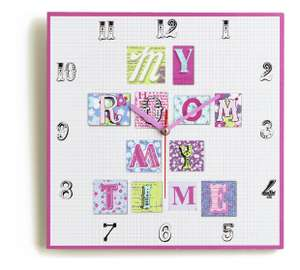 Arthouse Retro Hearts Wall Clock was £6.49 now £3.99 C+C @ Argos (others in OP)