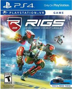 RIGS Mechanised Combat League PS4 (Playstation VR) £20 delivered @ Smyths