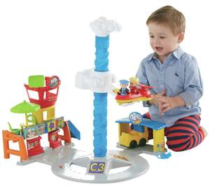 Fisher Price Little People Spinnin Sounds Airport was £19.99 now £14.99 - more toys in post @ Argos