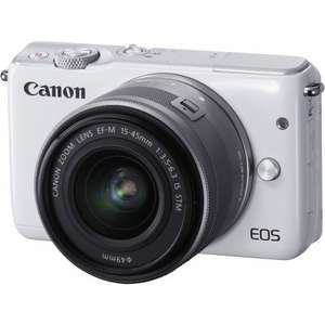 Canon M10 Mirrorless Camera White £199 Currys