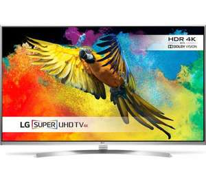 "LG 49UH850V Smart 3D 4K Ultra HD HDR 49"" LED TV £599 Currys"