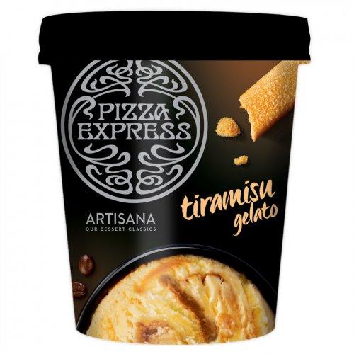 Pizza Express Tiramisu Gelato (480ml) was £2.50 now 2 for £4.00 @ Iceland