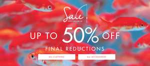 Ted Baker Up to 50% Sale now on
