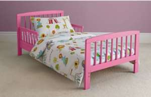 25% Off Wooden Toddler Beds (8 colours available) now £51.75 delivered at Asda