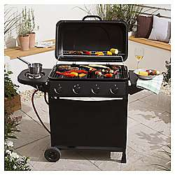 4 Burner Gas BBQ with Side Burner £85 @ Tesco (Free C&C / +£3 for home delivery)