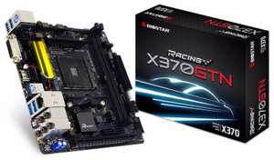 Biostar AMD X370GTN mini ITX Motherboard (AM4 Board)(RYZEN) £99.99 FreeDel @ Ebuyer