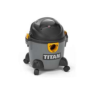 Titan Corded 16L Bagged Wet & Dry Vacuum Cleaner TTB350VAC £22 @ B&Q (C&C)