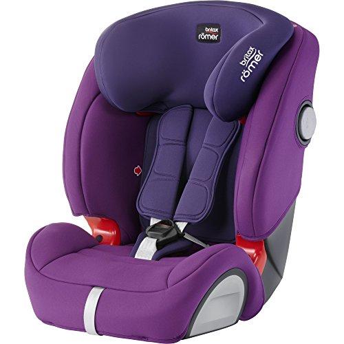 Britax Evolva SL SICT Group 1/2/3 car seat in Mineral purple - £149.99 @ AMAZON