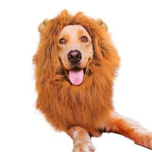 Lion Mane, Adjustable Pet Costume with Ears for Dog £8.50 (Prime) / £12.49 (non Prime) at Amazon
